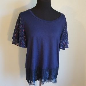 Pretty ladies Maurices tee, size L